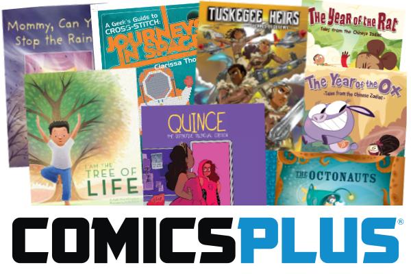 New Publishers in Comics Plus - Jan 2021
