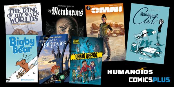Humanoids in Comics Plus